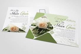 Photo Invitation Postcards Wedding Invitation Postcards