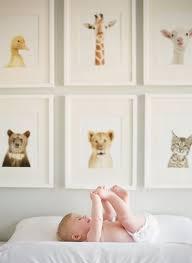 A great wall art idea for a nursery.