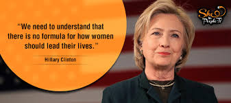 Womens Rights Quotes Gorgeous Human Rights Are Women's Rights' 48 Quotes On Women By Hillary