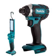 Makita Cordless Light Details About Makita Dtd152z 18v Lxt Cordless Impact Driver With Dml801 Led Light Torch Body