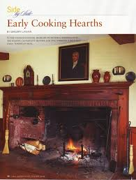 early american writings colonial cooking hearths