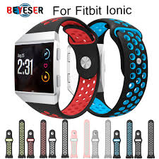 <b>Lightweight Ventilate Silicone Sport</b> Watch Bands Bracelet for Fitbit ...