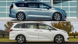 Honda Odyssey Vs Chrysler Pacifica  P