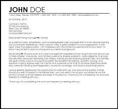 managment cover letter cover letter for case manager case management cover letter