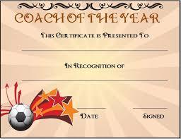 soccer awards templates soccer award certificate template 44 best blank certificate