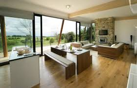 Modern Kitchen Living Room Living Dining Kitchen Room Design Ideas Home Decor Interior And