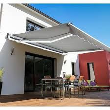 garden patio manual retractable awning