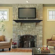 image of nice fireplace mantel shelf