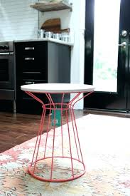 target gold side table red table 4 target gold wire side table