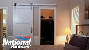 easy diy barn door track. Easy DIY Project - Interior Sliding Door Kit Installation | National Hardware Diy Barn Track