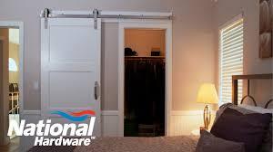 easy diy project interior sliding door kit installation national hardware