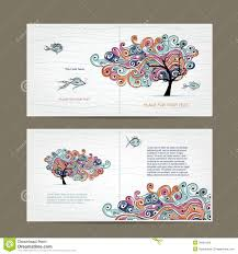print design cover and inside page wavy tree royalty print design cover and inside page wavy tree