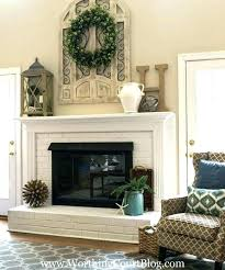fireplace mantel ideas with tv above decorating fireplace mantel with above