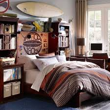 bedroom colors blue and red. Bedroom Designs For Teenagers Boys Red White Rool Up Curtain Blue And Bedding Set Exposed Brick Colors T