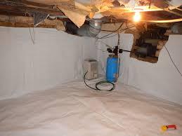 Lighting For Crawl Space Cellar Encapsulation After Www Indianacrawlspacerepair Com