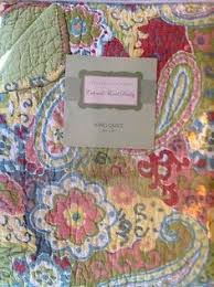 NEW CYNTHIA ROWLEY Watercolor Paisley Lavendar 3PC FULL/QUEEN ... & NEW CYNTHIA ROWLEY Watercolor Paisley Lavendar 3PC FULL/QUEEN QUILT + SHAMS  SET | Queen quilt, Big girl rooms and Bedspread Adamdwight.com