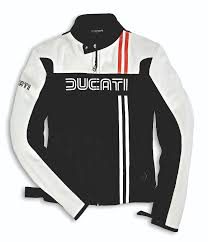 new ducati 80s leather jacket
