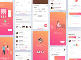 Good App Design Examples Firstdate X2 Iphone App Design App Background Material