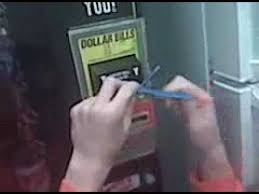 Masking Tape Vending Machine Simple Getting A Dollar Out Of A Vending Machine YouTube