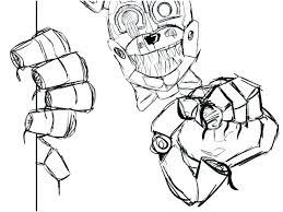 Fnaf Coloring Pages Bonnie Coloring Sheets Portraits Pages Withered