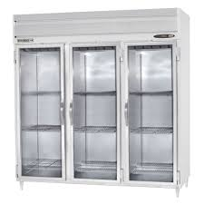 Glass Refrigerator Beverage Air Prd3 1bg Led 3 Section Glass Door Pass Through