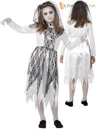 s ghost zombie corpse bride fancy dress up