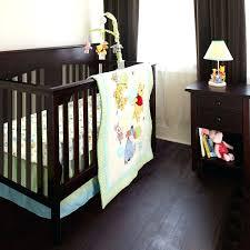 eeyore nursery bedding image of color the pooh crib set