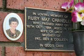 Ruby May Chandler (Wilson) (1919 - 1994) - Genealogy