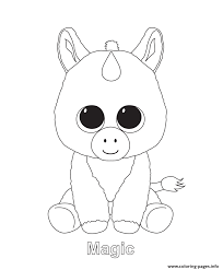 Beanie Boo Coloring Pages Lily Jo Pinterest Beanie Boos Livres
