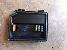 bmw e38 fuse box bmw engine bay fuse box cover and spare fuses oem e38 740 750 7 series