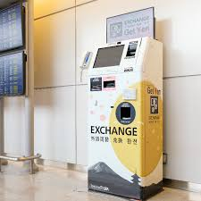 Currency Exchange Vending Machine Mesmerizing Narita Airport GPA Passenger Service SIM Card Sales Products LIVE