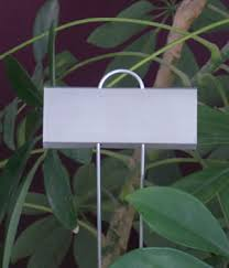 garden labels. F: Tall Display Plant Labels Garden