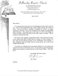 Reference Letter From Church Copy Brilliant Ideas Church Letters