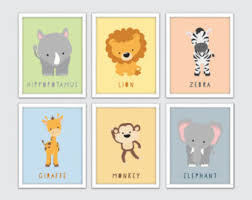 safari nursery art prints kids safari decor kids safari wall art baby animal prints animal wall art set of 6 safari kids decor on baby safari nursery wall art with safari nursery decor nursery wall art elephant decor baby