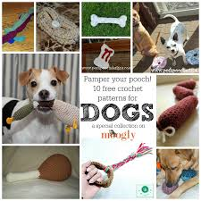 Free Crochet Dog Patterns Magnificent Gone To The Dogs 48 Free Crochet Patterns For Your Pets