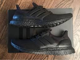 adidas ultra boost triple black. adidas ultra boost triple black 6us ds ltd limited core rare - photo 1/1 adidas ultra boost triple black