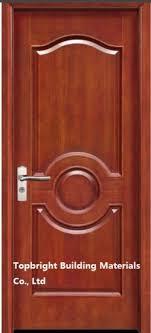 2016 best fancy interior solid wood wooden panel door design