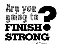 Finish Strong Quotes Simple Finish Strong WordArt Freebie