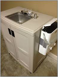 diy portable sink with hot water ideas