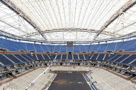 australian open roof world s largest tennis stadium arthur ashe stadium s roof closes