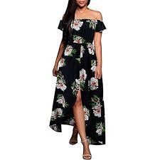 YANG-YI <b>Hot Women Summer</b> Bohemian Long Maxi <b>Dress</b> Evening ...