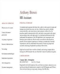 Hr Assistant Resume Sample Hr Assistant Resume Hr Assistant Resume