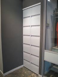 a c bifold doors modern closet