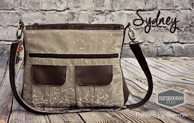 Messenger Bag Pattern Stunning Sydney Crossbody Swoon Sewing Patterns