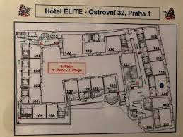 hotel floor plans. Elite Hotel: Hotel Floor Plan - Right Hand Side Is FRONT And Noisy Plans S