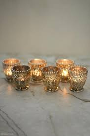 mercury candle holders. Unique Candle 6 Mercury Glass Votive Candle Holders Zoom Throughout Holders A
