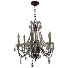 viyet designer furniture lighting vintage brass and crystal candlestick chandelier