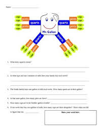 Gallon Man Questions Worksheets Teaching Resources Tpt