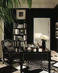 home office ideas women home. Black \u0026 White Office Idea, Minus The Zebra Rug; Replace With A Plain One Instead. Find This Pin And More On Home Ideas For Women