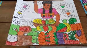 Design A Poster On The Topic Of Healthy Food